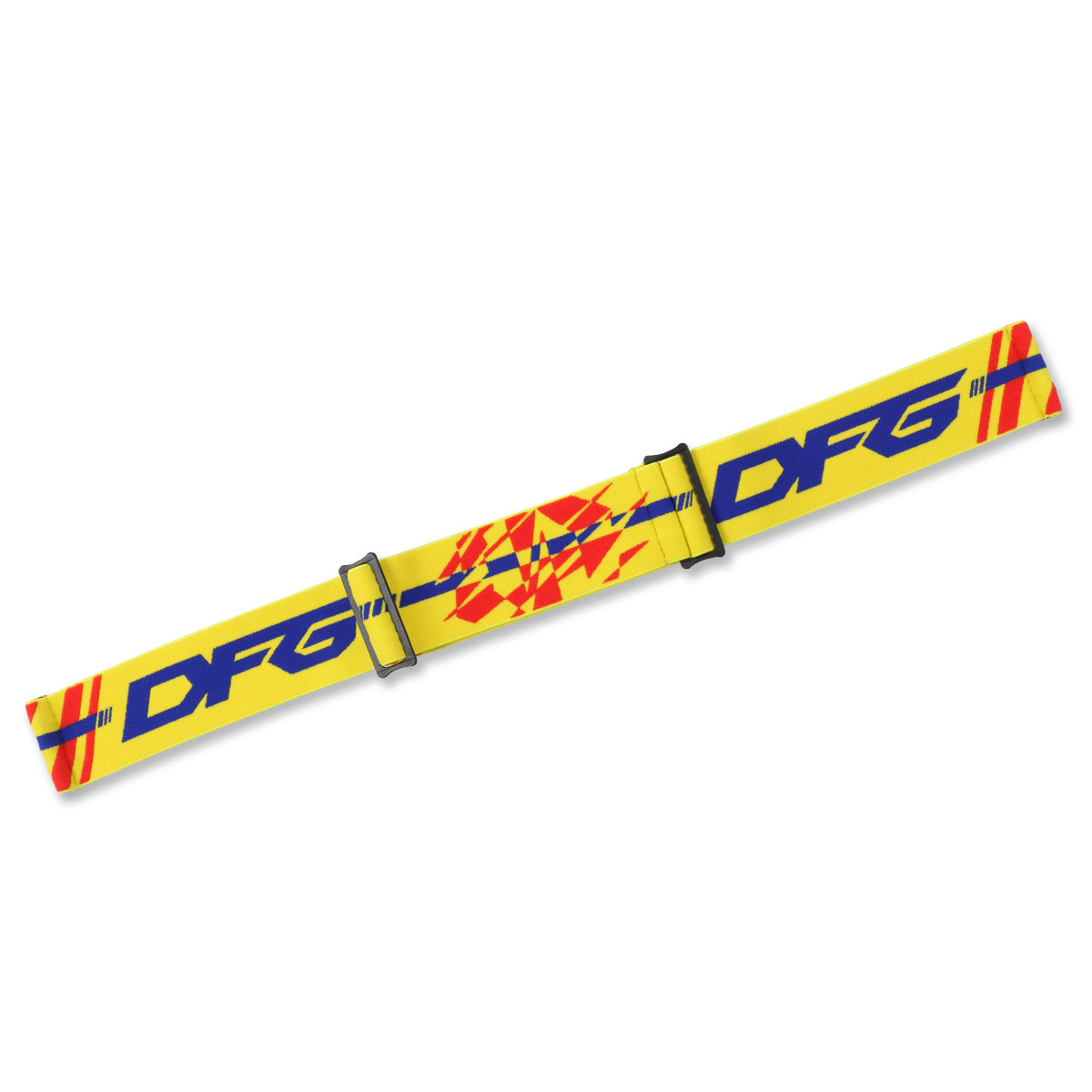 THROTTLE GOGGLE_THROTTLE GOGGLE v2.0 Replacement Strap_Blue / Yellow