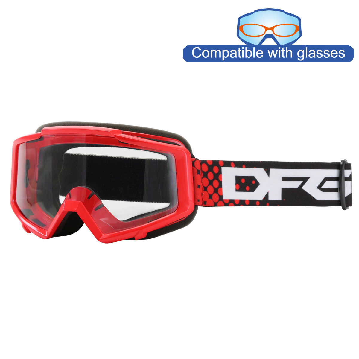 IGNITION GOGGLE_Red