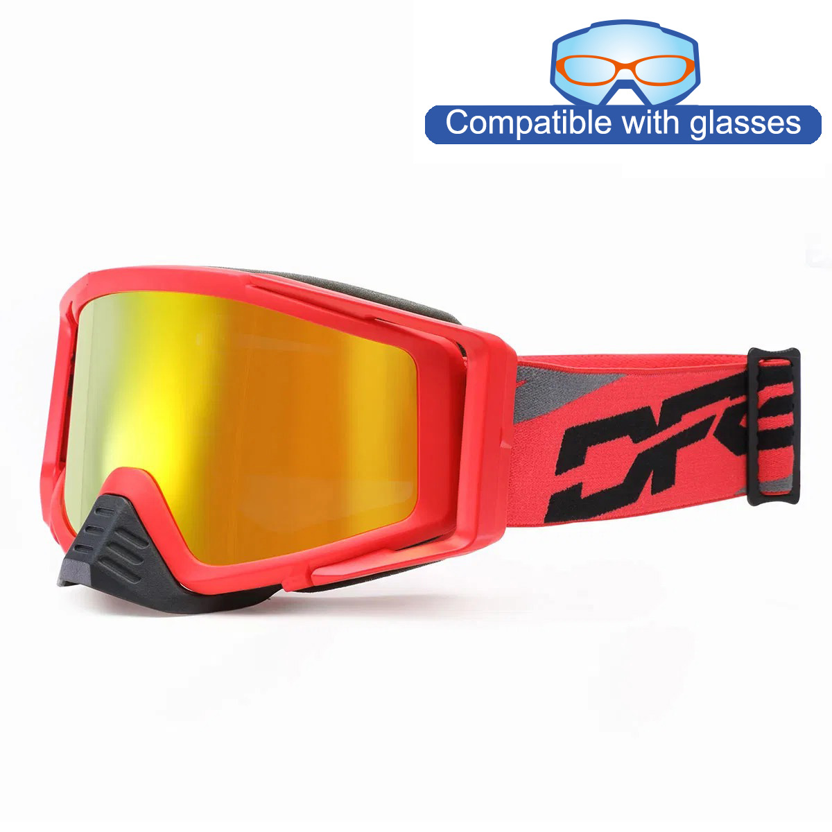 THROTTLE GOGGLE 2.0_Matte Red